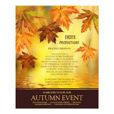 Fall Flyer Fall Festival Or Thanksgiving Flyer Template