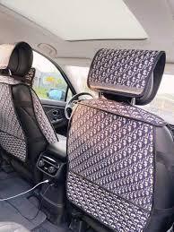 dior car seat cover set luxury
