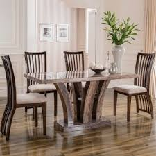 luxury dining room sets marble.  luxury amari marble 180cm dining table with 6 chairs20917 in luxury room sets e