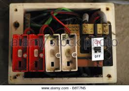 old style consumer unit electrical wire fuse box stock photo Electrical Fuse Box old style consumer unit electrical wire fuse box stock photo electrical fuse box diagram