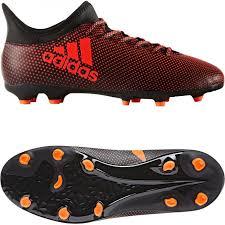 adidas x 17 3. adidas x 17.3 firm ground junior football boots - orange 17 3