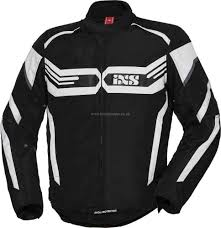 jackets black white motorcycle clothing ixs x sport rs 400