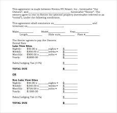 Blank Rental Application Sample Blank Rental Agreement 8 Free Documents In Pdf Word