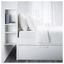 ikea brimnes bed. BRIMNES Bed Frame W Storage And Headboard White/leirsund Standard Double - IKEA Ikea Brimnes