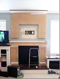 How To Faux MantelHow To Build A Faux Fireplace