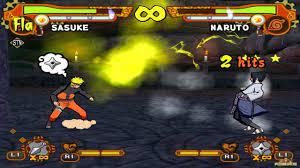 Naruto Shippuden: Ultimate Ninja 5 HD - Naruto vs Sasuke (60fps 1080p) -  YouTube