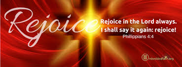Image result for rejoice in the lord always banners