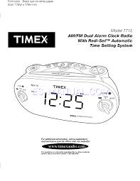 leer manual de usuario para timex t715 page 1