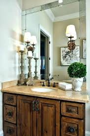Rustic Bathroom Vanity Lights Mesmerizing Farmhouse Bathroom Bathroom Design Ideas Modern Farmhouse