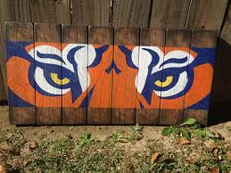 on auburn tigers wall art with reclaimed wood auburn tigers wall art