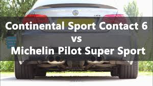 Michelin Pilot Super <b>Sport</b> vs <b>Continental SportContact</b> 6 - YouTube