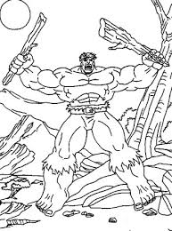 Do you familiar with hulk? Incredible Hulk Coloring Page Hulk All Kids Network