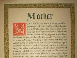 very short essay on mothers day