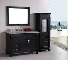 Bathrooms Cabinets : Bathroom Vanity With Side Cabinet Small ...