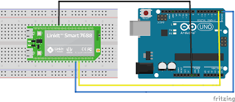 linkit smart basic tutorial communication arduino 01 connection