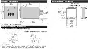 potter brumfield cnm5 multifunction time delay relays outline dimensions and wiring diagrams