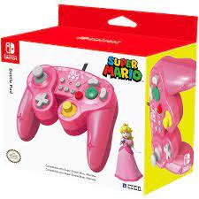 HORI Nintendo Switch Battle Pad (Peach ...