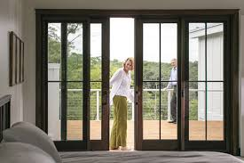 modern bifold doors create a movable