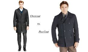 overcoat vs pea coat