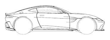 2018 Aston Martin Vantage Patent Drawing  ... T