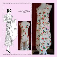 Vintage Apron Patterns Beauteous Apron History Reproduction Apron Patterns On Etsy