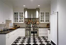 Appealing White And Black Tiles For Kitchen Design 66 About Remodel Kitchen  Design with White And