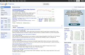 Google Finance Stock Quotes Awesome Google Finance Blog