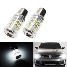 2007 Vw Jetta Daytime Running Light Bulb Error Free Hid Ice Blue 2x Led Bulbs For Mk6 Volkswagen