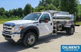 Small Fuel Truck built by Oilmen's Truck Tanks