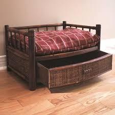 wood pet beds best dog beds images on