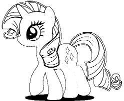 Small Picture Rarity My Little Pony Coloring Pages Coloring Home
