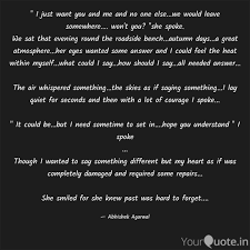 I Just Want You And Me Quotes Writings By Abhishek Agarwal