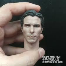 "custom <b>1/6 scale</b> Head Sculpt <b>Christian Bale</b> Batman fit 12"" male ..."