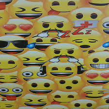 Details About Emoji Emojis Wallpaper Smiley Face Text Message Japanese Characters Kids