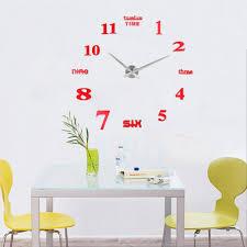 large office wall clocks. ideas wall clocks for home office modern art diy analog large
