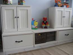 toys storage furniture. Furniture, Awesome White Painted Storage Cabinet For Toys And Toy Drawers Kids Furniture M
