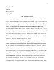 bureaucracy essay chyna sherrell soc  6 pages social stratification analysis essay