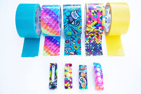 Duct Tape Patterns Stunning 48 Minute DIY Duct Tape Hair Clips