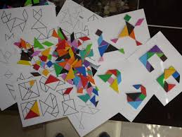 Tangram Alphabet – Free Printable | Free homeschool curriculum ...