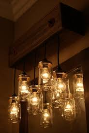 Rustic Bathroom Vanity Lights New Mason Jar Vanity Fixture Vanity Lighting Bathroom Lighting Rustic