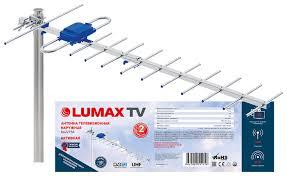 <b>Антенна</b> телевизионная <b>наружная LUMAX DA2215A</b> Ку до 26 дБ ...