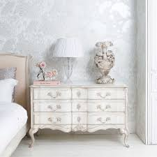 Shabby Chic Furniture Bedroom Delphine Distressed Shabby Chic Chest Of Drawers Shabby Chic