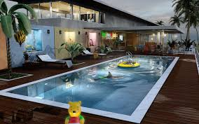 Pool Design Beautiful Backyard Design With Pool Gallery Interior Design