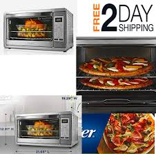 details about extra large digital countertop convection oven stainless steel for pizza bake