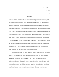 child iers essay