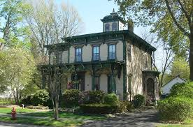 architecture 1900s. italianate lewis house in upstate new york architecture 1900s i