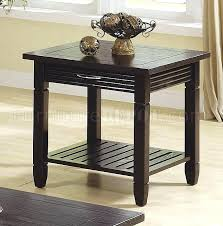 espresso coffee table sets coffee table espresso finish better homes and garden steel coffee table espresso