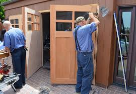 swing out garage doorsSwing Out Garage Doors How To Build In Three Steps  Home Interiors