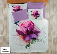 lotus flower duvet cover sets