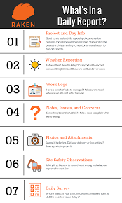 How To Create A Daily Report Daily Reporting For Construction